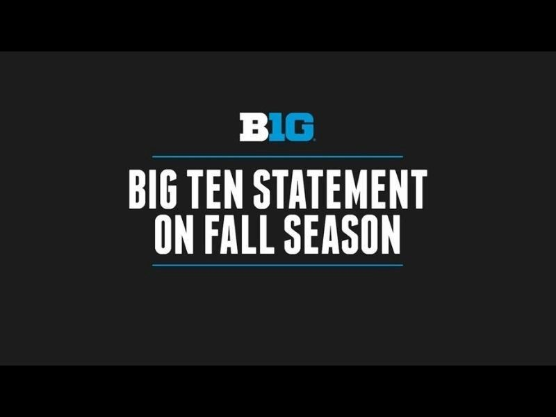 Big Ten Statement On 2020-21 Fall Season