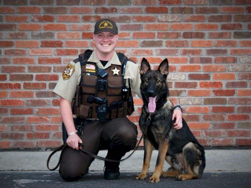 Burnett County Sheriff's Office Introduces Their Second K-9