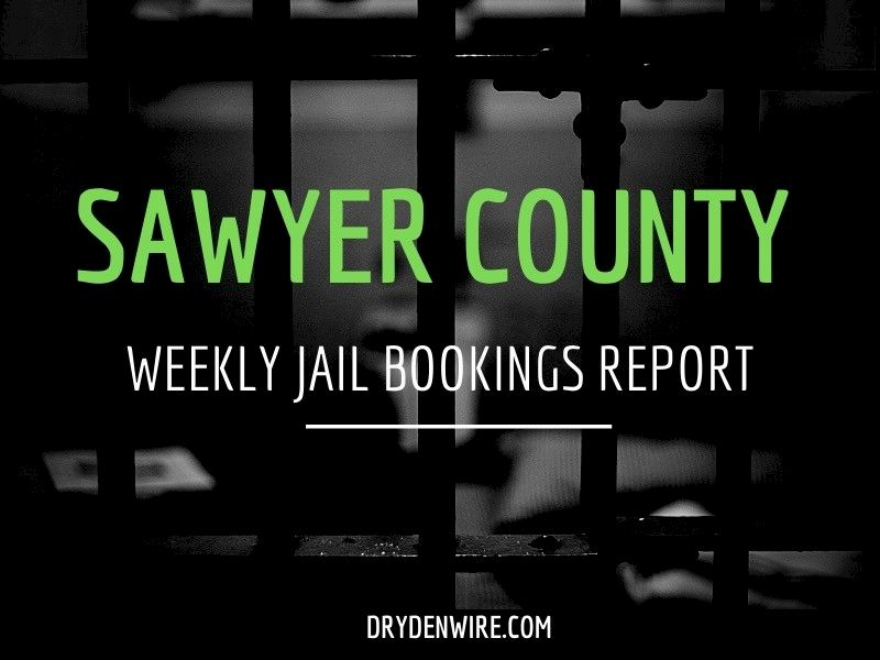 Weekly Jail Bookings Report For Sawyer County
