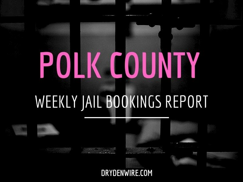 Polk County Weekly Jail Bookings Report