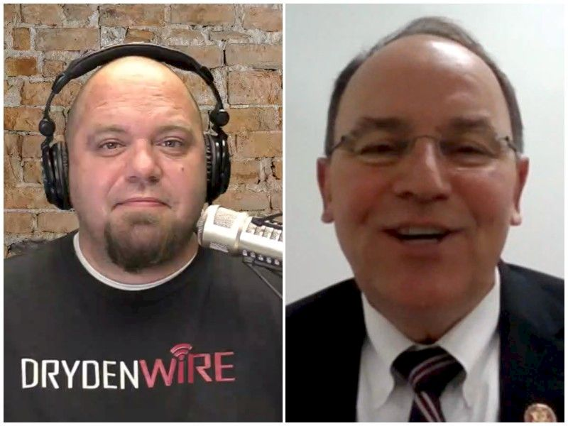 WATCH: Rep. Tom Tiffany On DrydenWire Live!