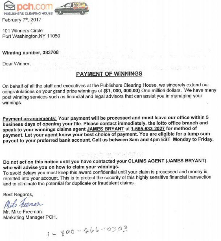 Cumberland Police Dept: This Letter from Publisher's