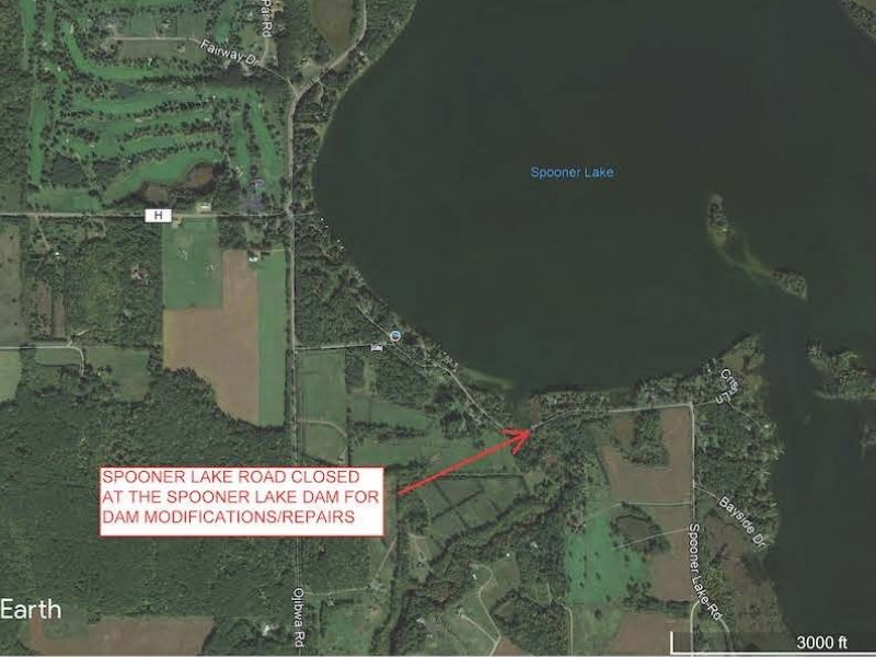 Schedule Update For Spooner Lake Dam Modifications