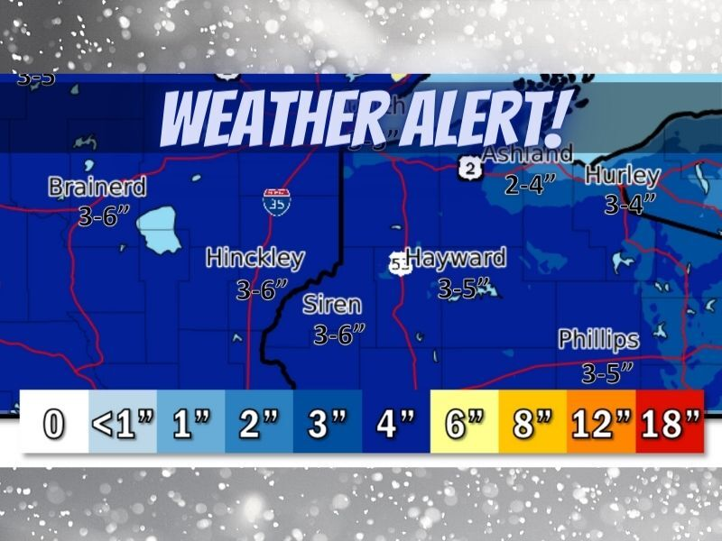 Widespread Snow Expected Today – Tonight
