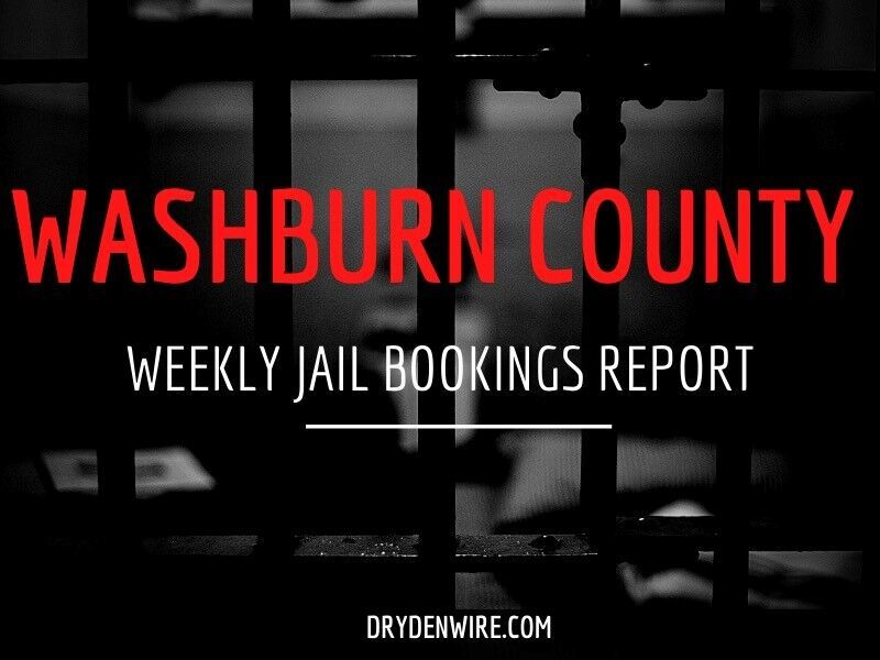Washburn County Weekly Jail Bookings Report