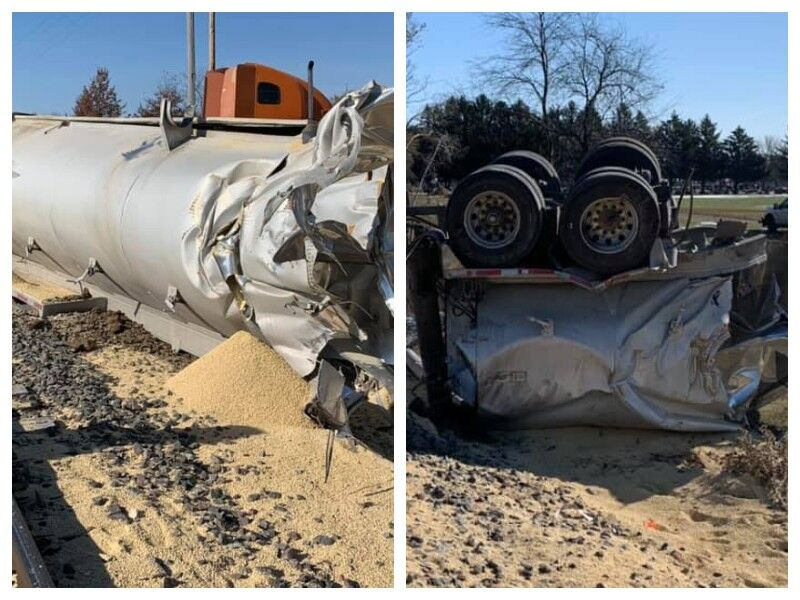 Train Vs Semi Crash In Barron County
