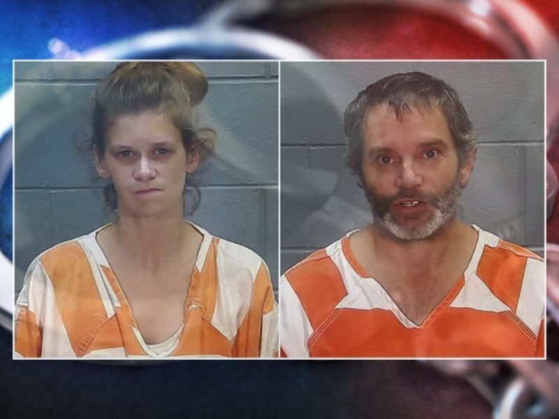Man And Woman Face Charges In Multiple Counties For Intent To Deliver Meth