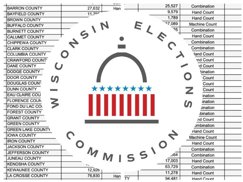 WEC Releases County And State Recount Cost Estimates And Recount Timeline