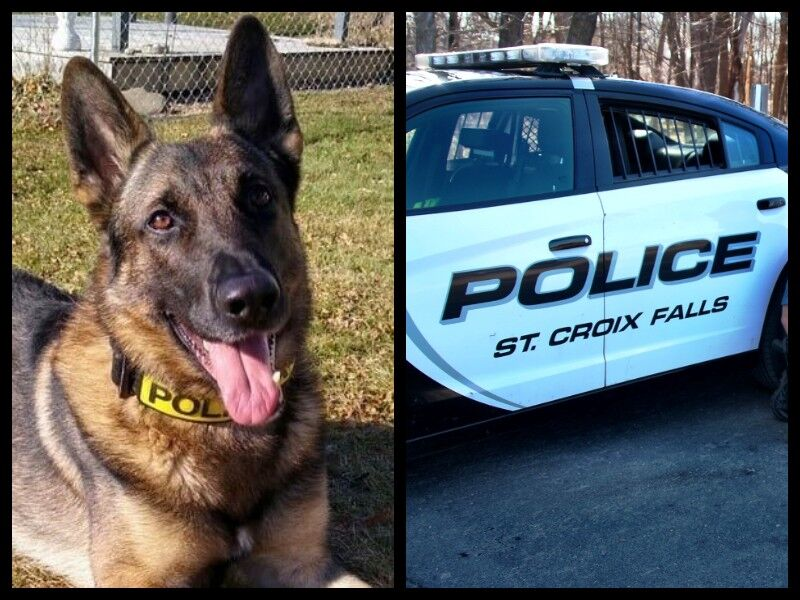 St. Croix Falls Police Department K9 Ikar To Get Donation Of Body Armor