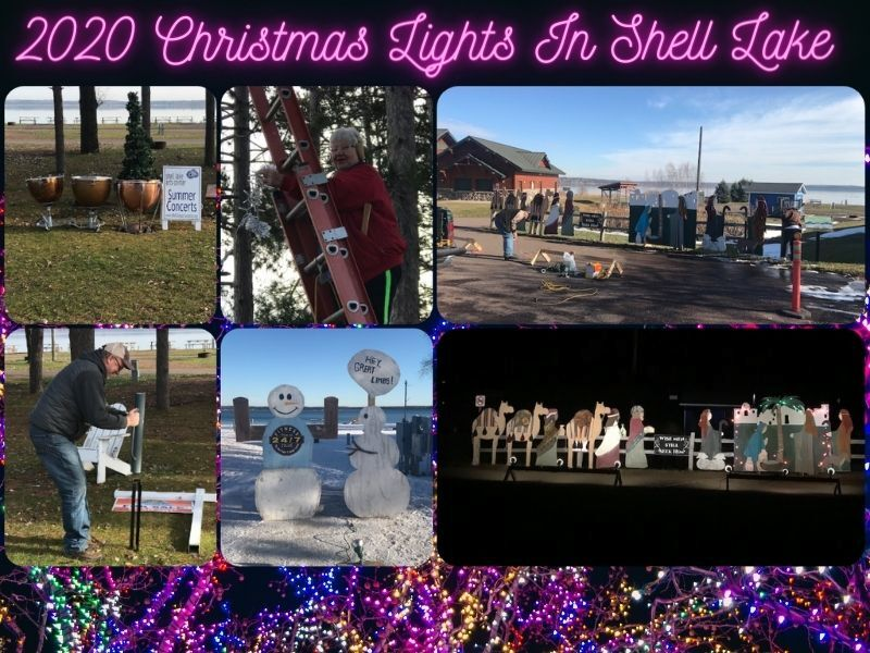 2020 Christmas Lights In The Shell Lake Campground Will Take Place This Holiday Season