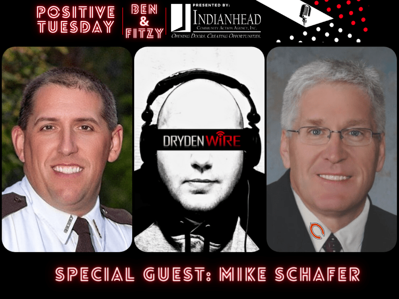 WATCH: Positive Tuesday w/ Ben & Fitzy - Special Guest: Mike Schafer