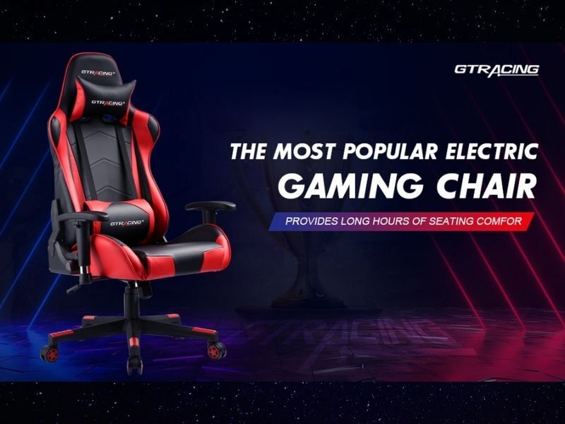 Save 5% (w/ Coupon Code) On The Popular GTRacing Gaming Chair