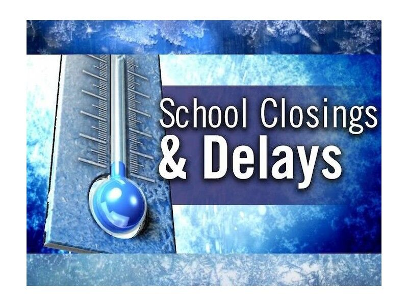 School Closings & Delays: Thursday, February 11, 2021