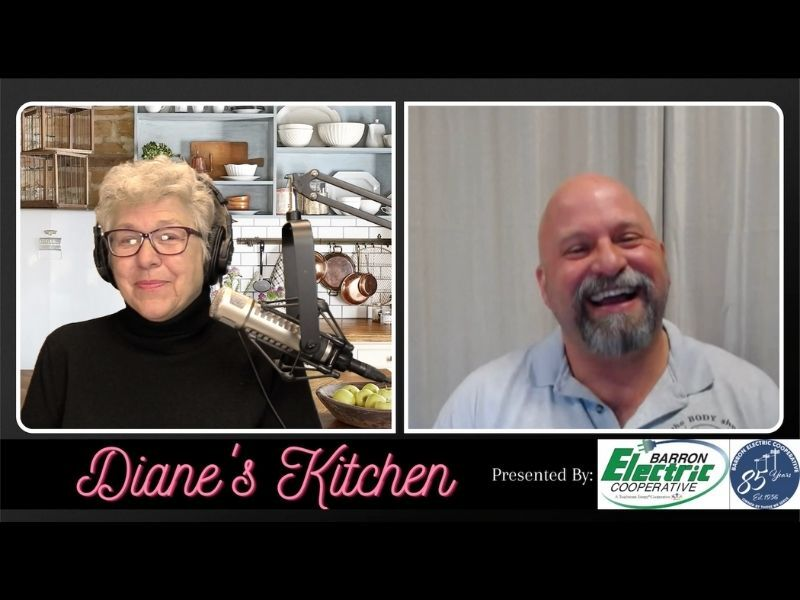 WATCH: Diane's Kitchen W/ Special Guest: Matt Dryden