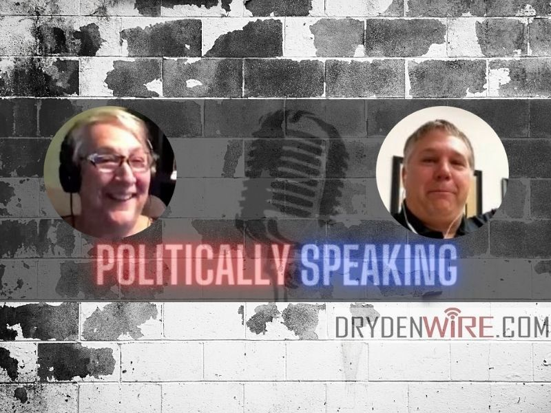 Live Thursday Morning: 'Politically Speaking' W/ Adam Jarchow & Patty Schachtner
