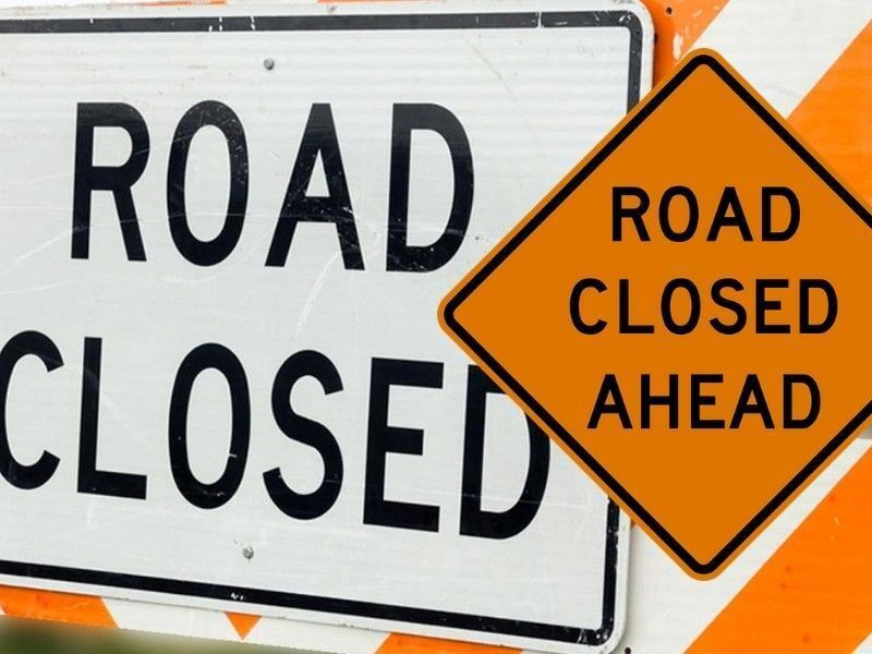 (UPDATE) Road Closure Notice: Dock Lake Road Project Now Extended