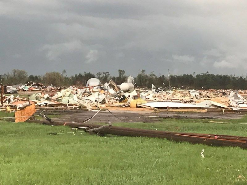 Tornado Hits Near Chetek in Barron County