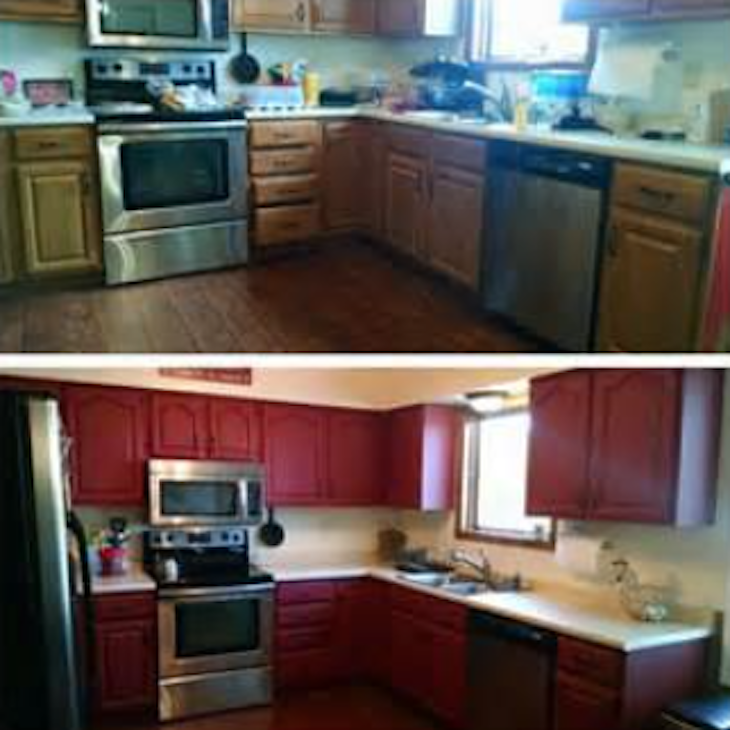 Thinking About New Kitchen Cabinets But Cost Is Too High