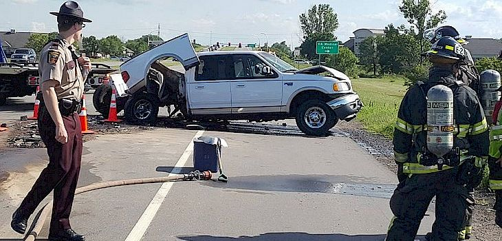 Spooner Family Involved in 3-Vehicle Crash in St. Cloud, MN