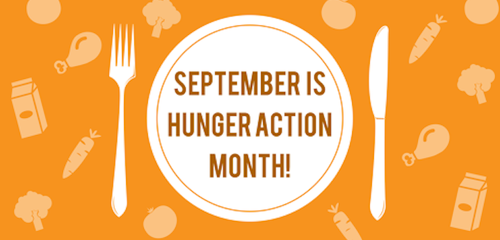 Healthy Minute: Hunger Action Month