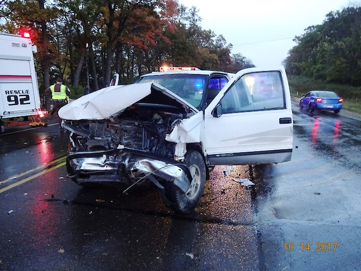 Two-Vehicle Crash in Polk Co  Results in Death of 38-Year-Old