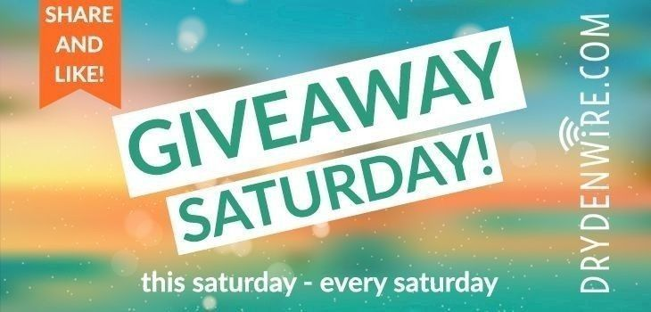 Giveaway Saturday - October 21, 2017