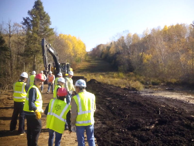 LCO Members Visit Enbridge Integrity Dig Site; Council Releases Timeline of Negotiation Process