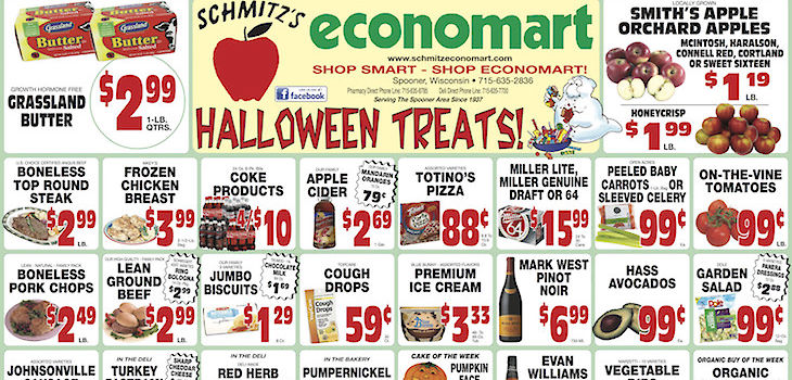 'Halloween Treats' - This Week's Deals From Economart!