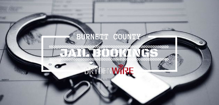 Burnett County Jail Bookings from 10/16 to 10/22