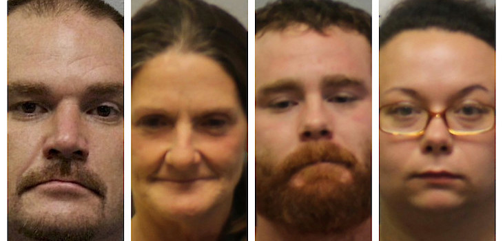 4 Charged After Police Locate Drug House in Spooner