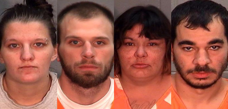 4 Charged With Armed Robbery Following Assault in Burnett County