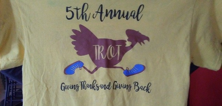 Sixth Annual Turkey Trot 5K to be Held Again This Year on Thanksgiving Day