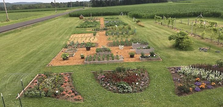 Spooner Ag Research Station Teaching & Display Garden Wins National Award