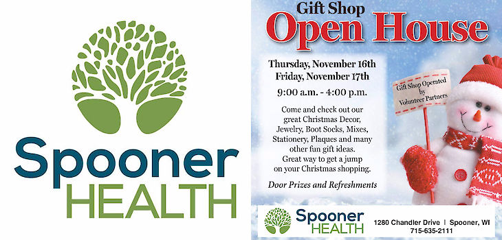 Start Your Holiday Shopping Early at Spooner Health
