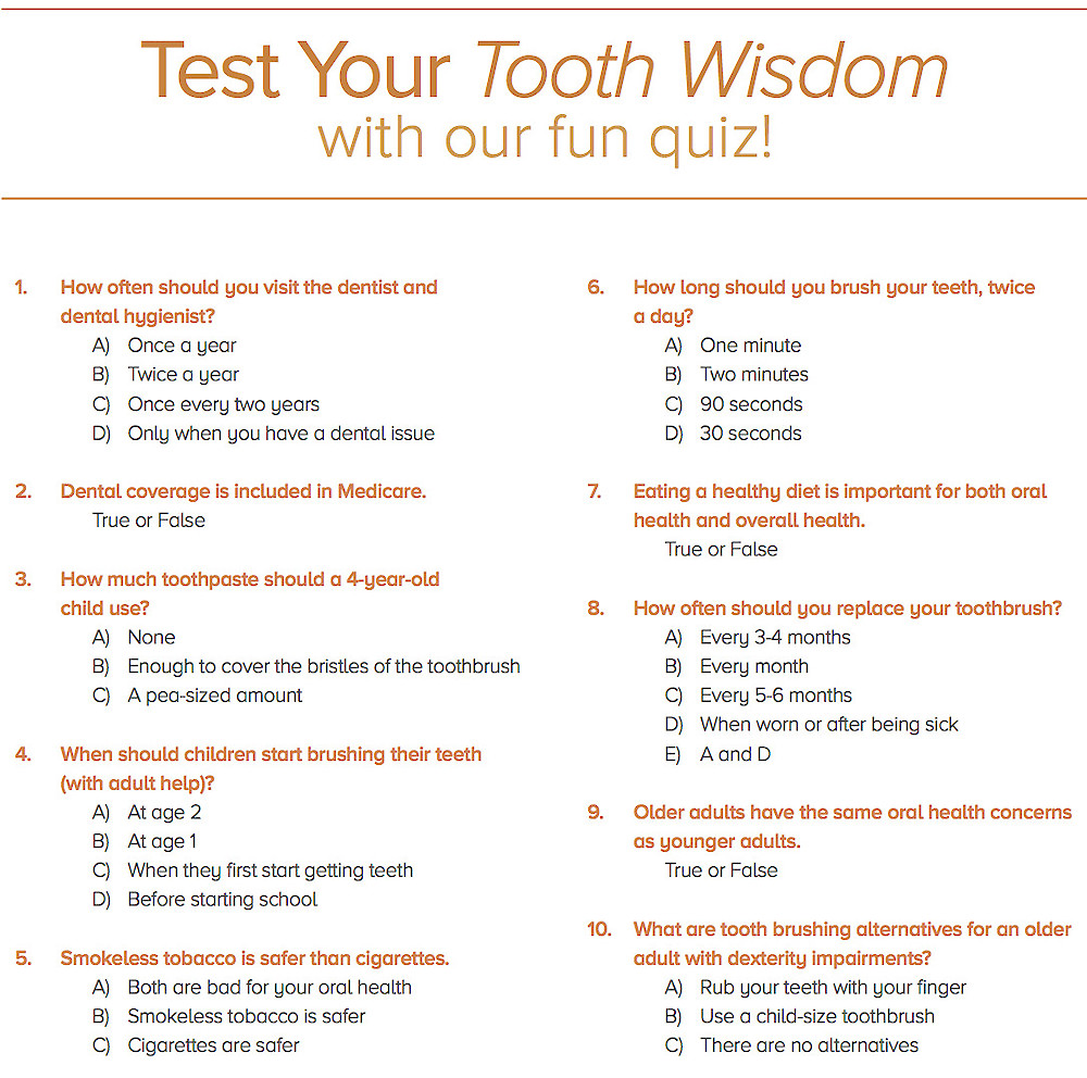 Ask The Dentist: How Much Do You Know About Your Dental