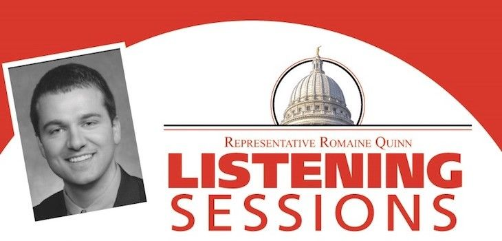 Rep. Quinn Announces December Listening Sessions