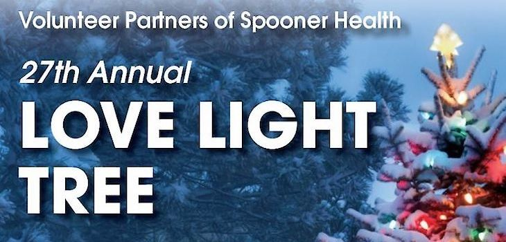 Spooner Health Lights up the Holidays with Love Light Ceremony