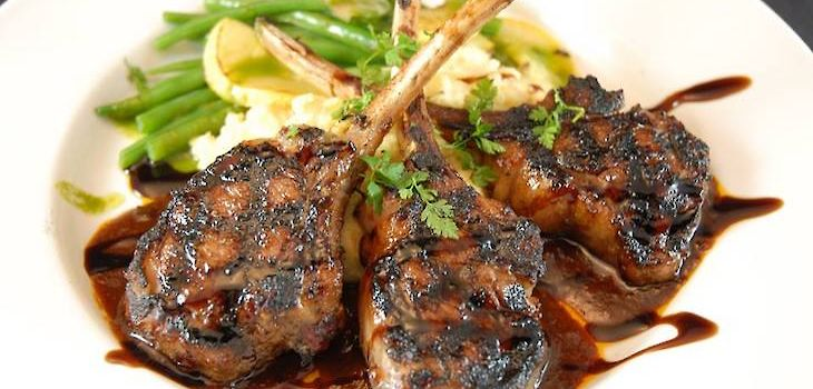 French Cut Lamb Chops on Special this Week at The Roost of Sarona