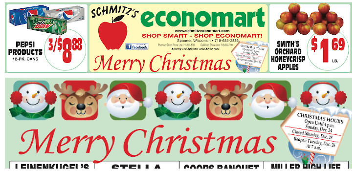 This Week's Great Deals from Economart! Dec 18 - Dec 24