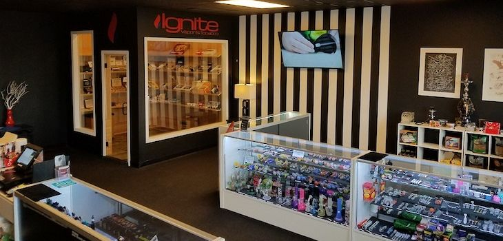 Ignite Vapor and Tobacco; Your Full-Service Smoke, Vape, and Gift Shop