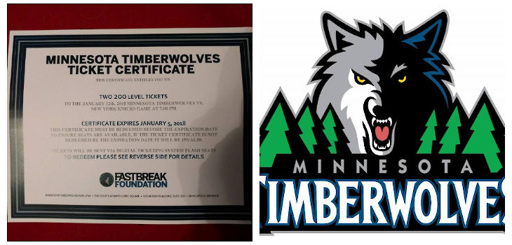 Shell Lake Police Foundation: 'Who Wants to Win Timberwolves Tickets?'