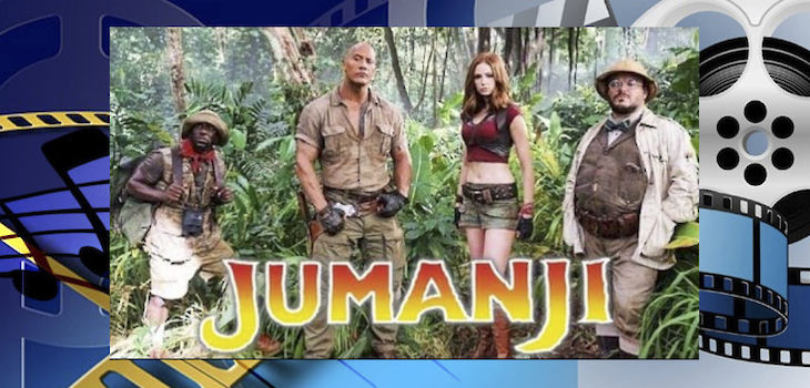 Movie Review: 'Jumanji: Welcome to the Jungle'