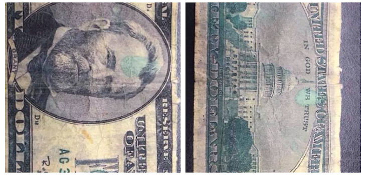 Counterfeit $50 Bill Reported in Washburn County