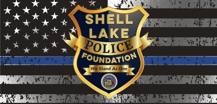 DrydenWire.com Creates, Donates New Logo to the Shell Lake Police Foundation