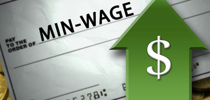 Higher Minimum Wages Started in 18 states on January 1 (Not Wisconsin)