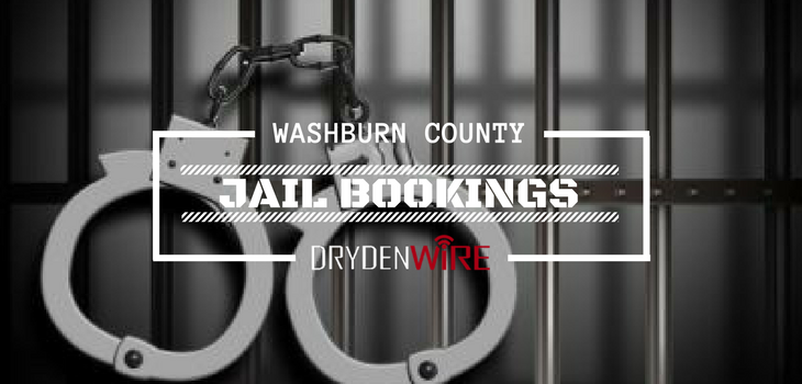 Washburn County Jail Bookings from 1/1 to 1/7