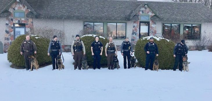 Operation Frosty Paws Event Raises Money for Area K-9 Units