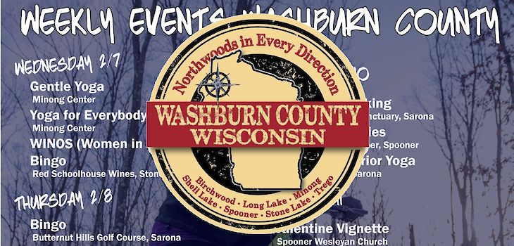 Events in Washburn County from 2/5 to 2/11
