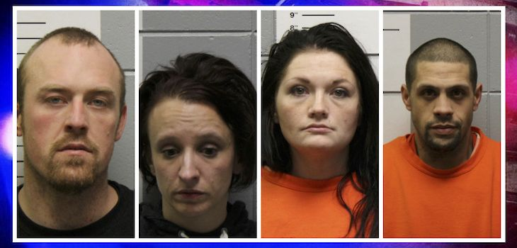 Drug-Related Charges Filed Against 4 People after Traffic Stop Near Spooner