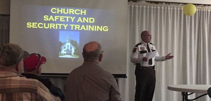 Church Safety & Security Training Held at Shell Lake Church